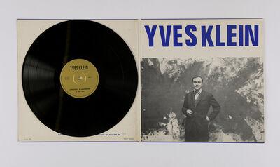 Yves Klein, 'Album de la conférence à la Sorbonne', 1959-1969