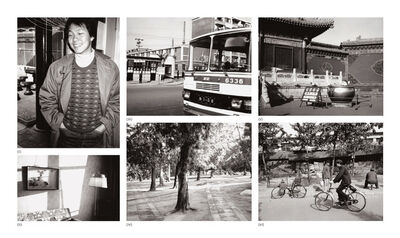 Andy Warhol, 'Six works: (i) Alfred Siu; (ii) Interior; (iii) Street Scene (Bus); (iv) Wooded Park; (v) Temple Entrance; (vi) Street Scene with People and Bicycles', 1982