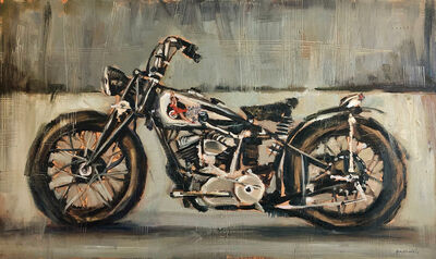 Bradford J. Salamon, '1940 Indian Scout', 2019