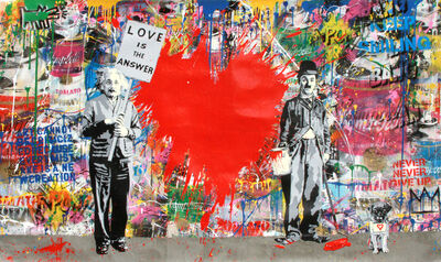 Mr. Brainwash, 'Juxtapose ', 2018