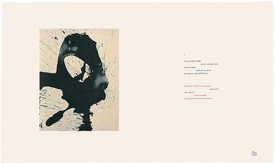 Robert Motherwell, 'Three Poems: Nocturne I', 1988