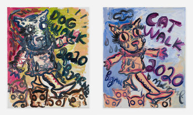 Bjarne Melgaard, 'Cat/Dog Walk', ca. 2020