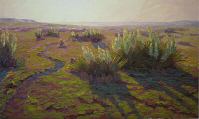 Laura Lewis, 'Cow Trail on the Border', 2012