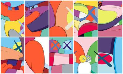 KAWS, 'No Reply (portfolio of 10 works)', 2015