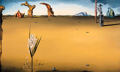 Salvador Dalí, 'The Invisible Lovers', 1946