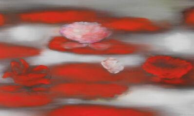 Ross Bleckner, 'Floating Red', 2019