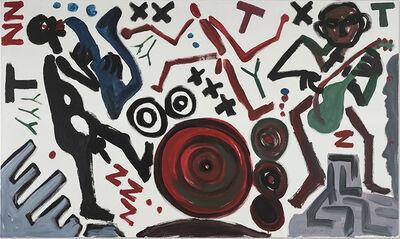 A.R. Penck, 'Musiker', 1988