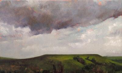 Lisa Grossman, 'Flat Topped Hill', 1995