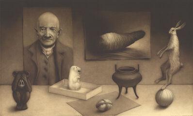 Erling Valtyrson, 'Arrangement with hare ', 2018