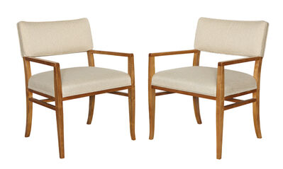 T.H. Robsjohn-Gibbings, 'Rare Set of Four Armchairs by T. H. Robsjohn-Gibbings', ca. 1959