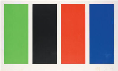 Ellsworth Kelly, 'Four Panels', 1970-1971