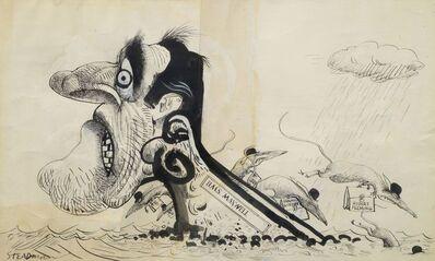 Ralph Steadman, 'The Rats Leaving a Sinking Shit'