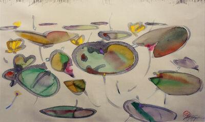 Ted Godwin, 'Lilies Midsummer', 1985