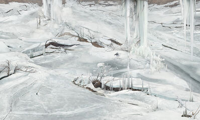 Won Seoung-Won, 'The Ice Pillars of Government Officers', 2017