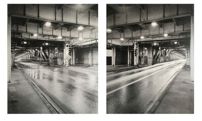 Alex Fradkin, 'Train (Diptych)'