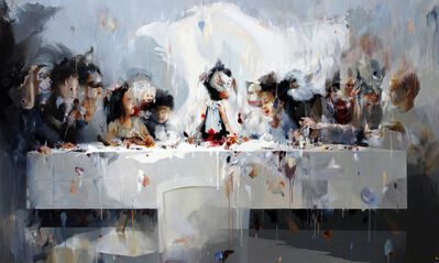 Y Indra Wahyu N, 'Juvenile in Last Supper'