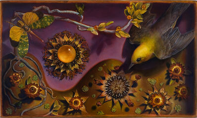 Kevin King, 'Diorama with Sunflowers', 2010