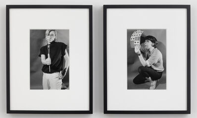 Cindy Sherman, 'Untitled (Male/Female Artist)', 1980/2012