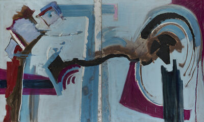 Judith Godwin, 'Blue Beams', 1994