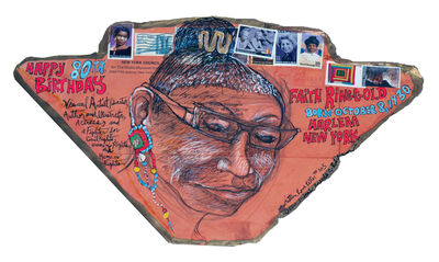 Aminah Brenda Lynn Robinson, 'Unwritten Love Letter: Happy 80th Birthday Faith Ringgold'