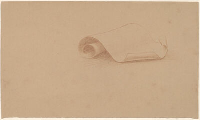 Charles Sprague Pearce, 'Study of a Scroll', 1890/1897