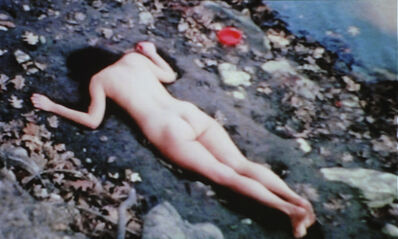 Ana Mendieta, 'Corazón de Roca con Sangre (Rock Heart with Blood)', 1975
