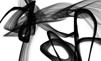 Irena Orlov, 'Abstract Poetry in Black and White 110', 2016