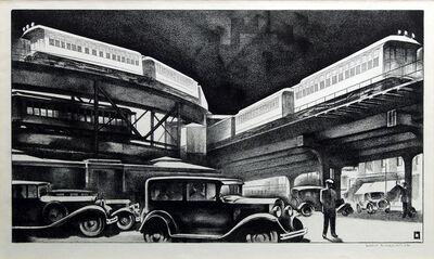 Louis Lozowick, 'Traffic', c. 1930