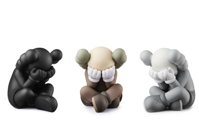 KAWS, 'SEPARATED Companions Set of all 3 Colorways', 2021