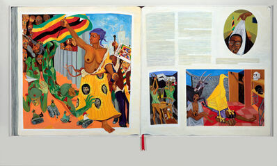 Richard Mudariki, 'History Book', 2018