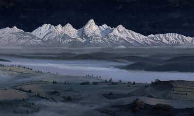 Timothy Barr, 'Teton Nocturne', 2020