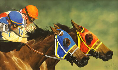 Ron Balaban, 'RACING HORSES', ca. 2000