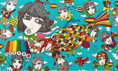 Tae Kyu Yim, 'Fly Away Home#40', 2014