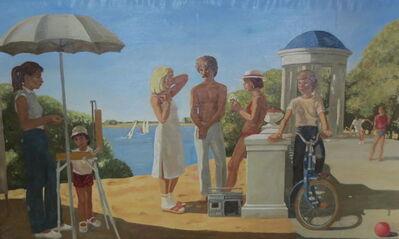 Yury Popkov, 'Resting Youth', 1987