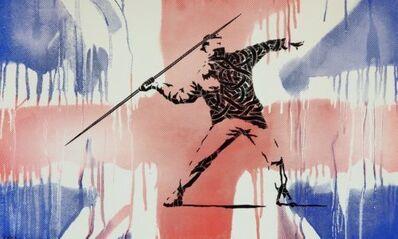 Otto Schade, 'HOMAGE TO BANKSY (FLAG)'