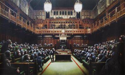 Banksy, 'Monkey Parliament', 2009