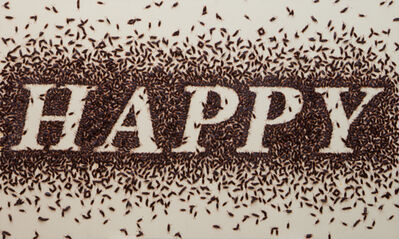 Anon Pairot, 'Sweet word # Happy', 2014