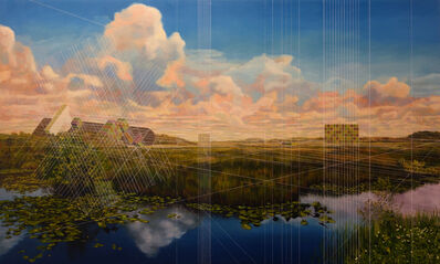 Mary Iverson, 'Everglades National Park with Containers', 2017