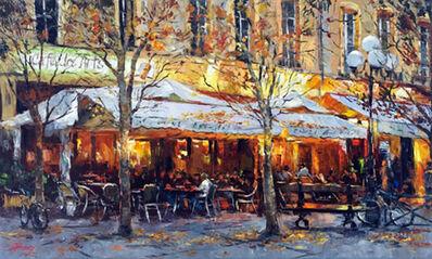 Elena Bond, 'Café Des Artes', 2011