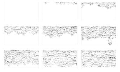 Juan Carlos Bracho, 'Dibujos para la grabación de un vídeo', -2