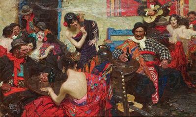 Dean Cornwell, 'Spanish Tavern', 1922