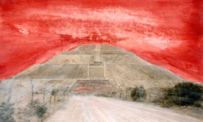Cristina Kahlo, 'Variaciones sobre la Pirámide del Sol No. 5', 2018