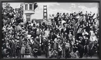 JR, 'The Chronicles of San Francisco, Bridge, USA', 2018