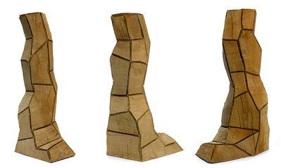 David Nash, 'Cut Corners Column', 1997