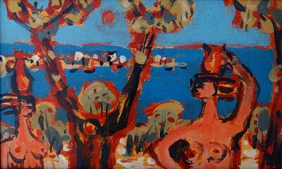 Herbert Siebner, 'Girl Carrying Wine', 1982