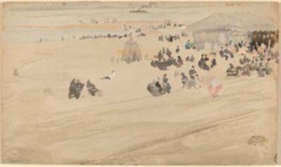 James Abbott McNeill Whistler, 'Beach Scene', probably 1885