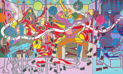 Ajarb Bernard Ategwa, 'Red Dancers', 2017