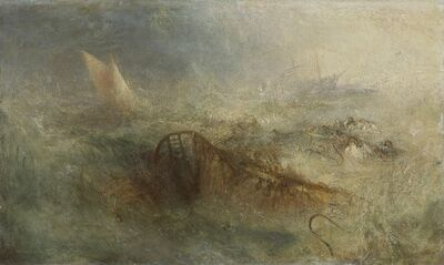 J. M. W. Turner, 'The Storm ', 1840-1845