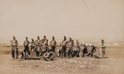 Roger Fenton, 'Group of four salt prints of Crimean War scenes'