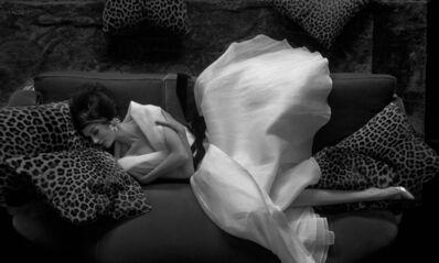 Melvin Sokolsky, 'Look Down: Simone, Harper's Bazaar', 1960